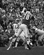 Joe Namath was  named MVP after leading the Jets to victory in Super Bowl III.