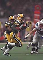 Desmond Howard became the first special teams player to be named Super Bowl MVP.