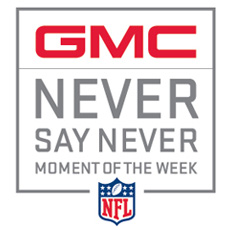 GMC Never Say Never Moment of the Year