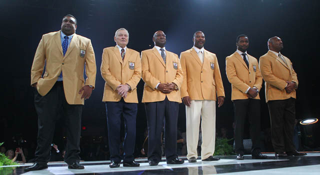 wholesale dealer 70647 51858 Hall of Fame Class of 2012 receive gold jackets | NFL.com