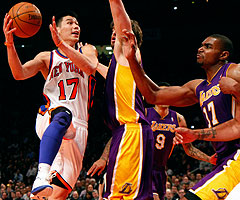 Jeremy Lin's unlikely rise with the Knicks has been Tebowesque, and the 23-year-old point guard doesn't mind the comparisons.