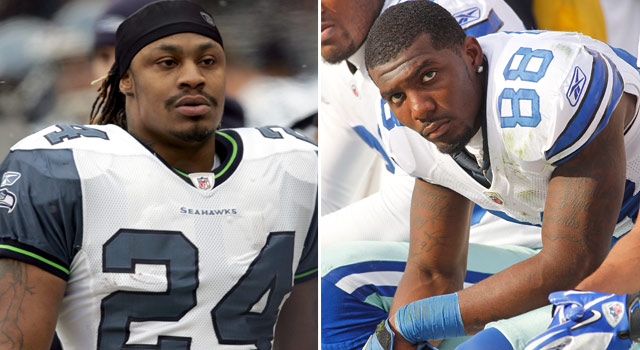 Marshawn Lynch Dez Bryant Arrests Sully Seahawks Cowboys