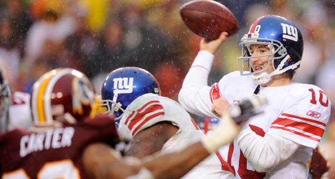 NY GIANTS VS REDSKINS