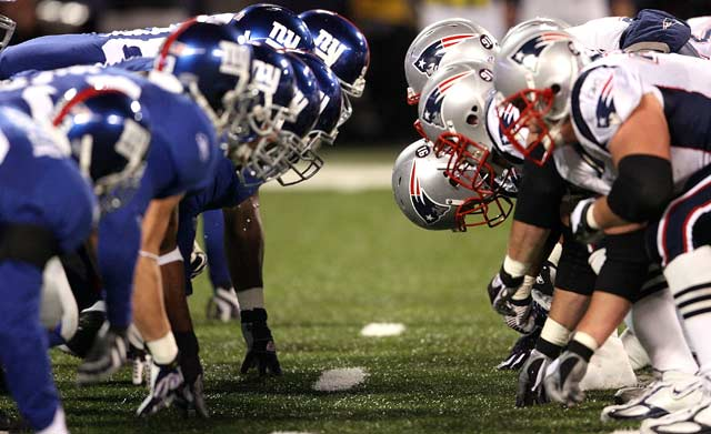 Superbowl XLII (New York Giants VS New England Patriots ...