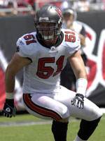 Barrett Ruud is one of the young talents the Tampa Bay Buccaneers are relying on