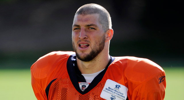 Broncos Lbs Handiwork Is No More After Tebow Shaves Do Nfl