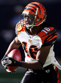 Bengals Wr Holt Is One Player Moving Up Depth Chart