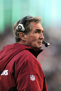 It's been a rocky first year for Mike Shanahan in Washington.