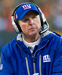 Coach Tom Coughlin, who owns one Super Bowl championship, will return to the Giants next season.