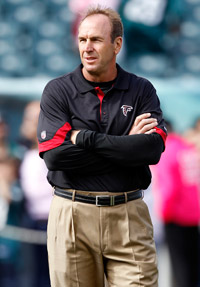 Mike Mularkey guided the Atlanta Falcons' offense to 25.9 points per game, fifth-best in the NFL this season.