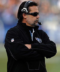 Jeff Fisher will be the Titans' coach in 2011, but nothing is guaranteed after that.