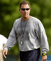 St. Louis Rams offensive coordinator Pat Shurmur was the first candidate to interview for the Cleveland Browns' head-coaching job.