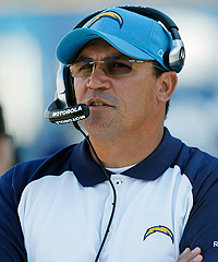 Ron Rivera has been the defensive coordinator for the San Diego Chargers and Chicago Bears during his NFL coaching career.