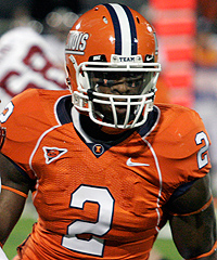 Many draft experts expected Martez Wilson to remain at Illinois for his senior season.