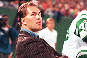 Dennis Byrd played for the Jets from 1989 until 1992, when he was temporarily paralyzed during a game.