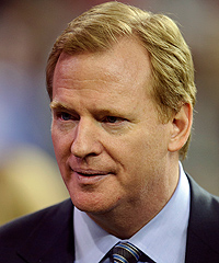NFL Commissioner Roger Goodell said he will draw a $1 salary if a labor deal can't be reached by March.