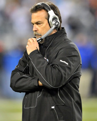 Jeff Fisher recorded a 147-126 overall record in over 16 seasons as head coach of the Titans.