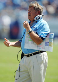 Mike Heimerdinger, whom the Titans fired Tuesday, ran an offense that ranked 27th in the NFL this past season.