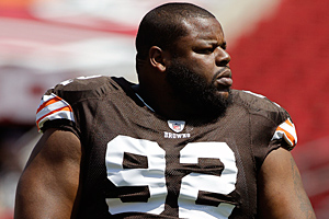 Browns GM Tom Heckert says the release of defensive lineman Shaun Rogers (above) was motivated by more than just his bloated salary.