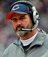 Could Bears offensive line coach Mike Tice be in line for a promotion -- to Titans offensive coordinator?