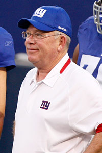 Chris Palmer was the New York Giants' quarterbacks coach from 2007 to 2009 and won a Super Bowl ring.