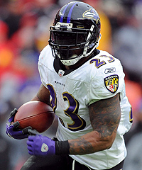 Willis McGahee has rushed for 1,595 yards and 24 touchdowns over his past three seasons with the Ravens.