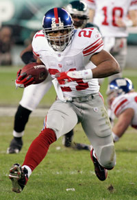 Tiki Barber last played in the NFL during the 2006 season with the New York Giants.