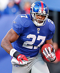 The Giants got a steal by drafting bruiser Brandon Jacobs with the 110th overall pick.