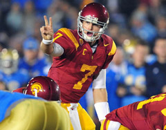 Matt Barkley is rated No. 2 because he's been solid since becoming the first USC QB to start a season opener as a true freshman.