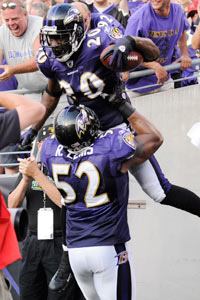 Ray Lewis (52) and Ed Reed would look good in bronze, don't you think?
