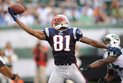 Randy Moss has 954 catches and 153 touchdowns in his distinguished NFL career.