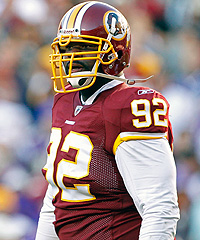 The Washington Redskins have been looking for more from defensive lineman Albert Haynesworth since they signed him to a $100 million contract in 2009.