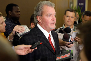 'This is the season to get a deal,' Colts owner Jim Irsay said before Tuesday's owners meeting in suburban Chicago.