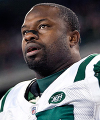 Jets linebacker Bart Scott is no stranger to helping those with physical needs.