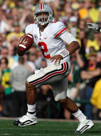 Ex-Ohio State QB Terrelle Pryor (above) likely will turn to the same man whom Cam Newton did to help him prepare for the NFL.