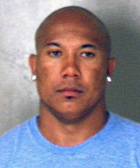 Mug shot of Steelers WR Hines Ward following his Saturday arrest on suspicion of DUI in Georgia.