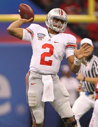 Terrelle Pryor enjoyed three standout seasons for Ohio State before an illegal benefits scandal led to him leaving the school.