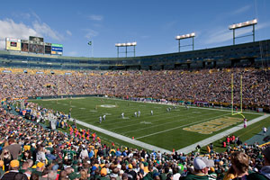 Green Bay's Lambeau Field is the third-oldest continually operating venue in major sports behind Chicago's Wrigley Field and Boston's Fenway Park.