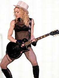 Madonna could become the first person to star in both a Super Bowl halftime show and