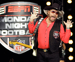 Country-music star Hank Williams Jr. won't be a