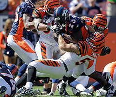 The Bengals' 4-2 start largely is a result of its defense, which is ranked second in the league in yards allowed.