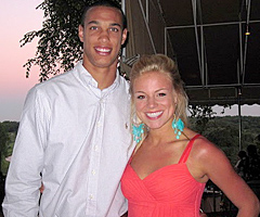 David Nelson and Kelsi Reich are your typical American couple, except for the whole NFL player, Cowboys cheerleader thing.