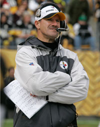 Bill Cowher has been off the sidelines since leaving the Steelers in January of 2007.
