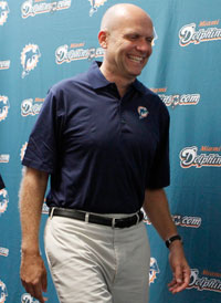 Mike Dee was named CEO of the Dolphins and SunLife Stadium in May 2009.