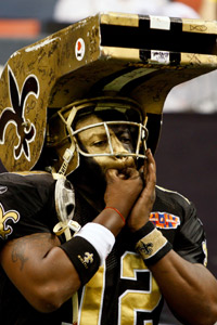 The famous Whistle Monster has been indicted by Sean Payton.