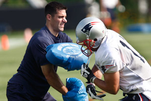 With experience as a coach and personnel guy, the Pats' Nick Caserio has a bright future.