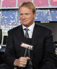 Jon Gruden says he'll be back on 
