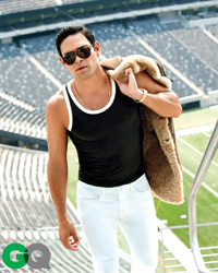 Mark Sanchez's September 2011 spread in GQ was a red flag for former Jets DT Kris Jenkins.