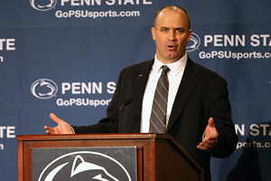 O'Brien was introduced as Penn State head coach on Jan. 7.