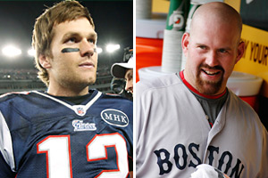 Tom Brady and Kevin Youkilis are about to become family.